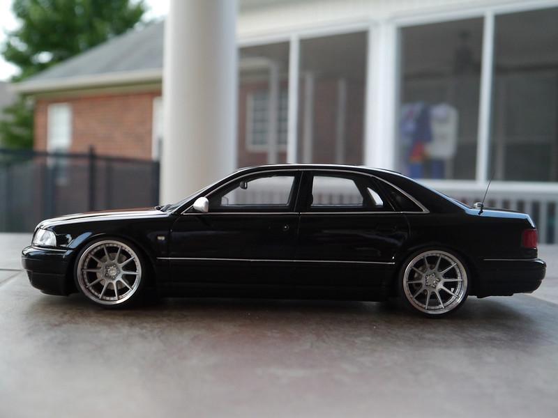 audi s8 on adv wheels dx custom model tuner shop diecast cars forums. Black Bedroom Furniture Sets. Home Design Ideas