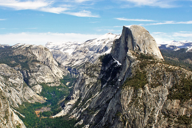 View from Glacier Point, Yosemite, CA