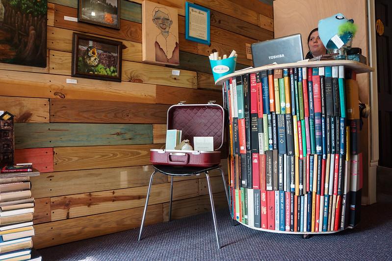 Bookshelf Desk