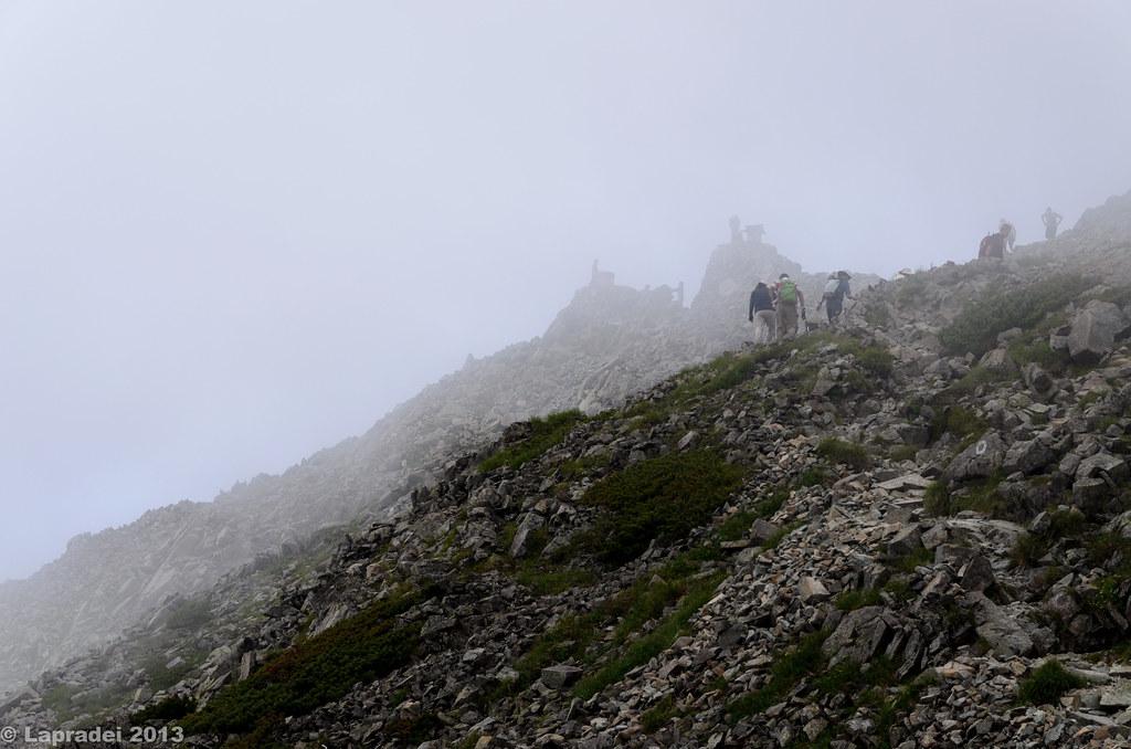 20130803 奥穂高岳山頂
