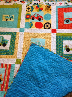 Riley Blake Peak Hour Baby Quilt