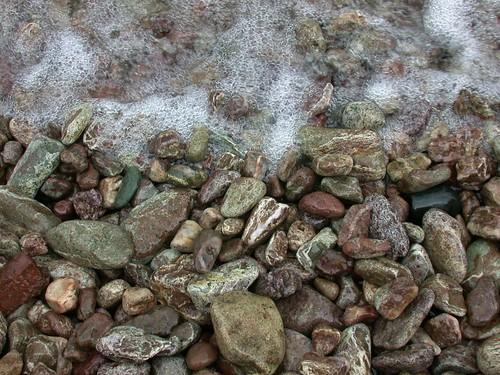 Beautiful beach rocks by Lithified Detritus I