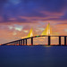 Sunshine Skyway Bridge by Don Sullivan