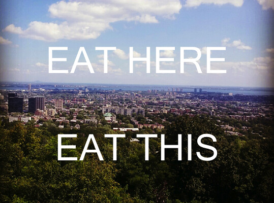 EAT HERE EAT THIS