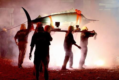 台東成功鎮特有的漁民文化-旗魚祭(洪曉敏提供)