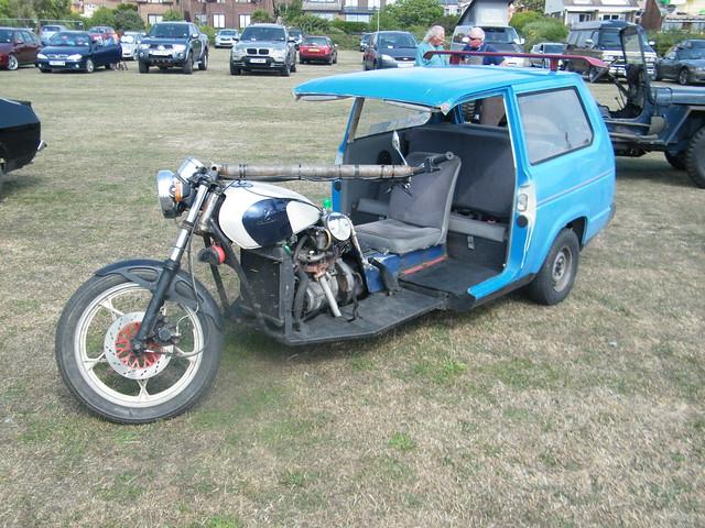 1992 ???/Reliant Robin Trike | Flickr - Photo Sharing!