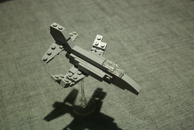 Mini Lego F-4 Phantom II   Flickr - Photo Sharing!