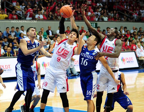 UAAP Season 76: Ateneo Blue Eagles vs. UE Red Warriors, Sept. 8
