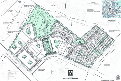 Revised Glenmont Metrocentre Site Plan