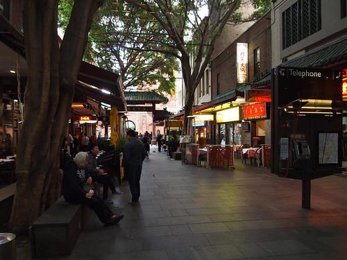 オーストラリア最大のシドニー郊外にあるチャイナタウン