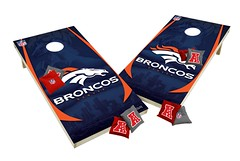 Denver Broncos Custom Cornhole Boards XL