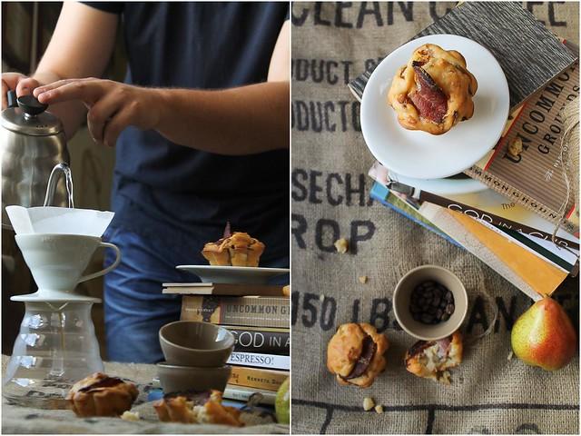Coffee & Savory Muffins