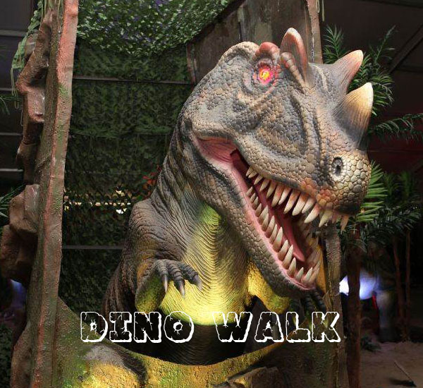 Animatronic Allosaurus Head