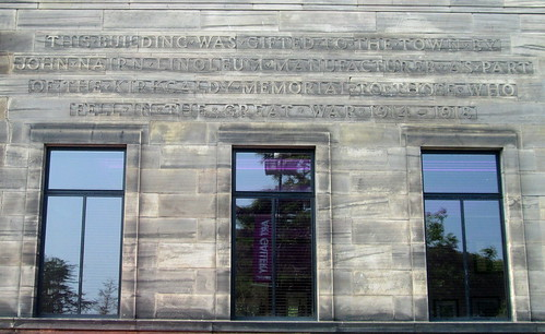 Kirkcaldy Museum and Art Gallery Wording