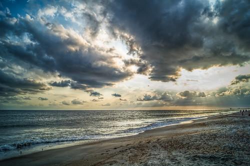 sunset beach coast nc crystal north atlantic carolina