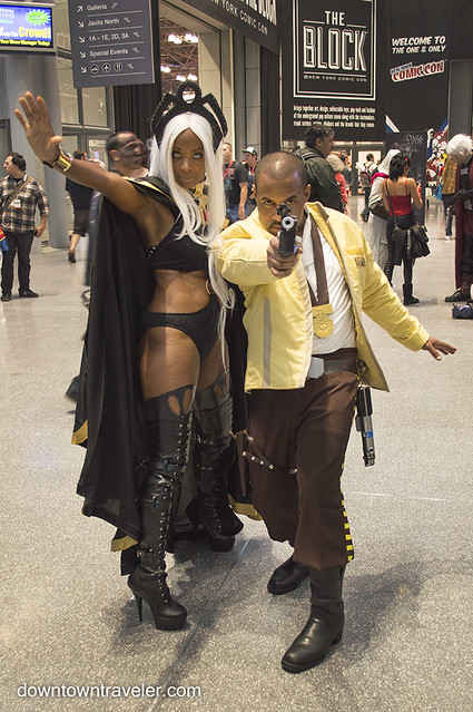 NY Comic Con Couples Costume Skywalker and Storm