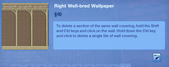 Right Well-bred Wallpaper