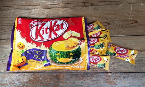 Kit Kat de pudding de calabaza