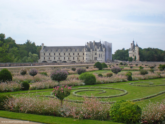 Castle and gardens.