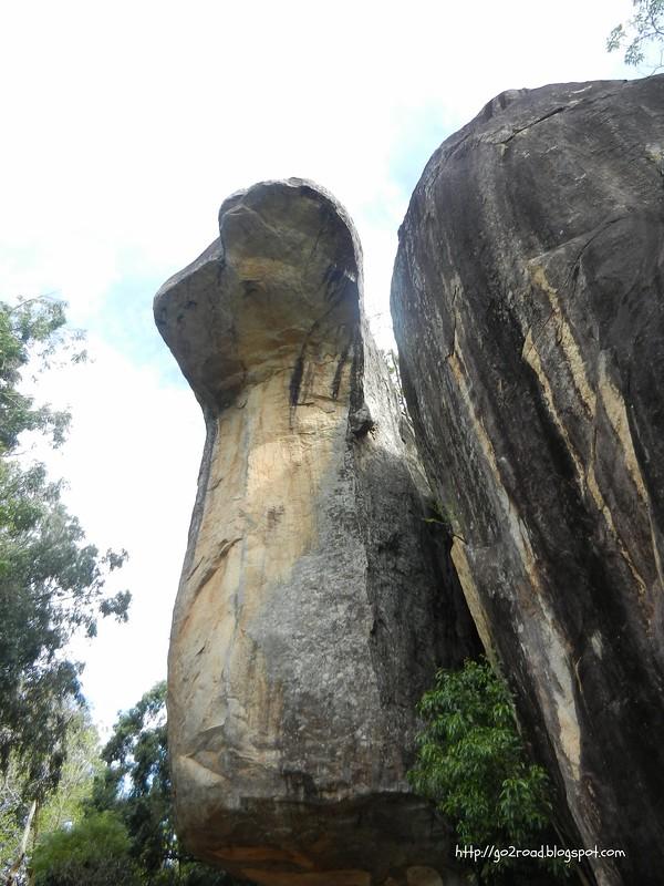 Скала кобра в Сигирии на Шри Ланке