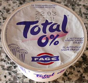 Dieta Dukan Yogurt Greco Total 0% Fage