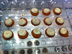 Sweet potato pie mini cupcakes by Baked by Melissa at JFK Airport by Rachel from Cupcakes Take the Cake