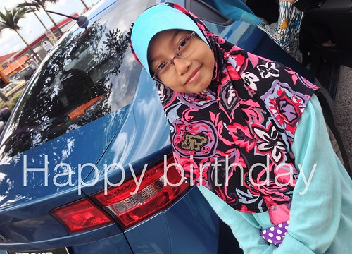 Happy birthday sayang