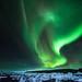 2013-11-07 Aurora Borealis at Jökulsarlon, Iceland by schmitzcory