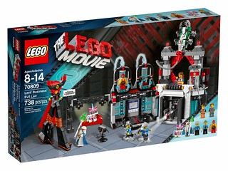 The LEGO Movie 70809 - Lord Business' Evil Lair