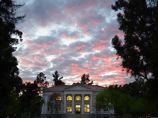 Carnegie at sunset on November 12, 2013