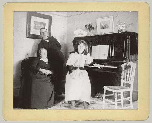 Three and a piano