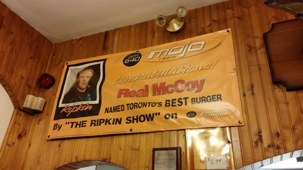 Real McCoy still loves Mojo Radio! Eatin' like it's 2003!