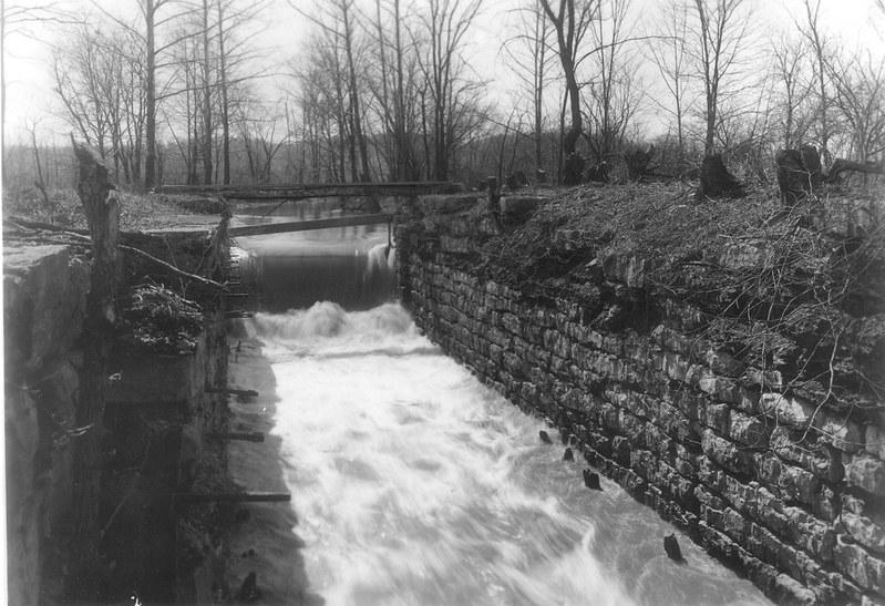 Lock 21 at Yellow Bank - April 1906