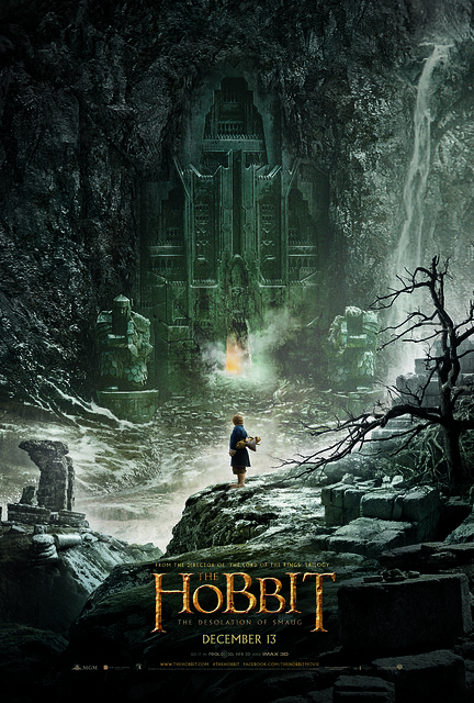 """The Hobbit: The Desolation Of Smaug"" Teaser Poster"