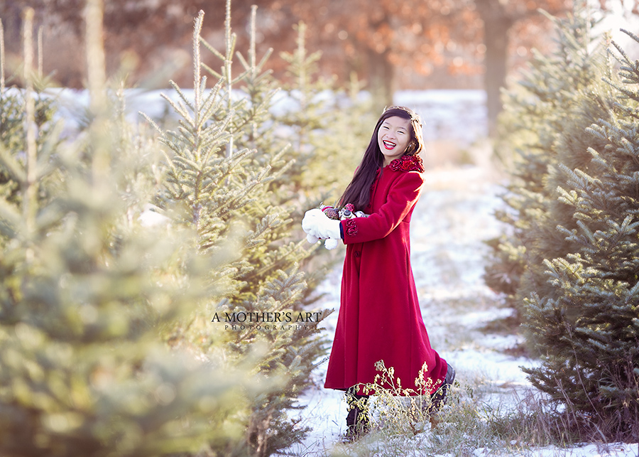 Christmas Red Coat-7