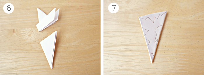 diy christmas paper snowflakes garland tutorial 3