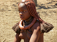 Think, young himba girls you