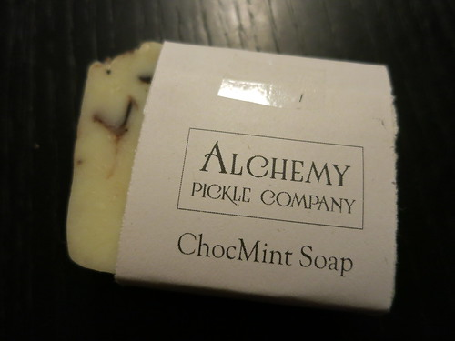 Alchemy Pickle Co ChocoMint Soap