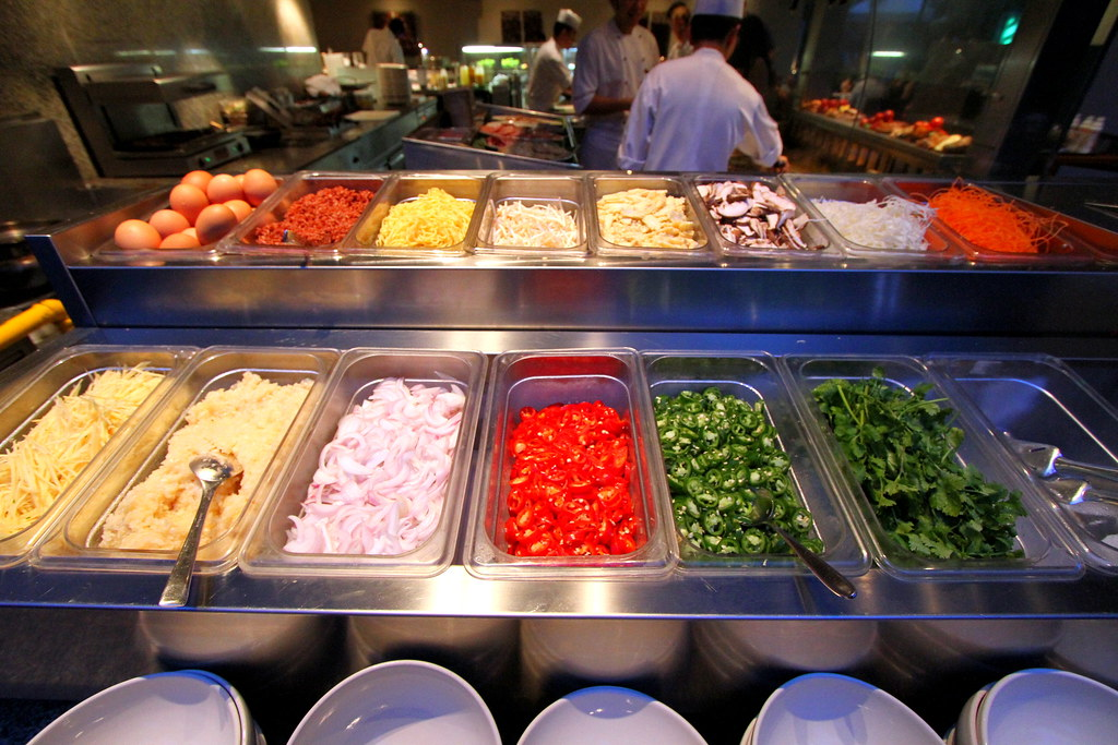 Grand Hyatt Singapore: Oasis Grill Food