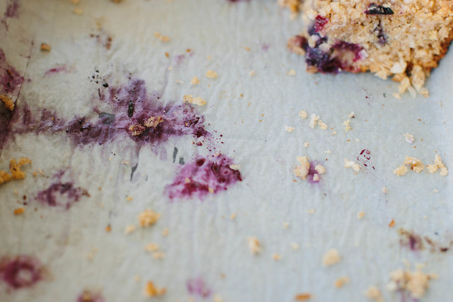 blueberry, lemon + quinoa slice {gluten + dairy-free}