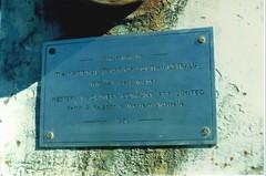 Winding Machine - plaque
