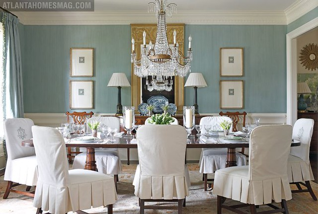 Another Favorite Dining Room Image That I Referenced When Looking At Chandelier Heights Design By Betsy Elsey Via Atlanta Homes Lifestyles