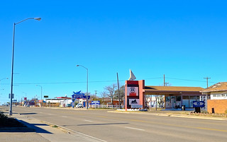 NMTXRoadtrip2013: Route 66 in Tucumcari NM