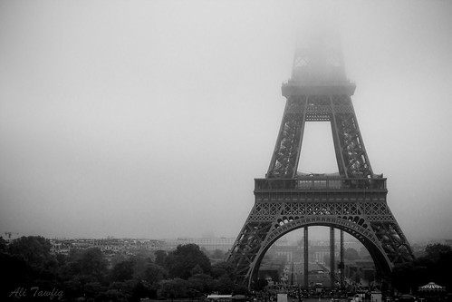 Eiffel In the Fog