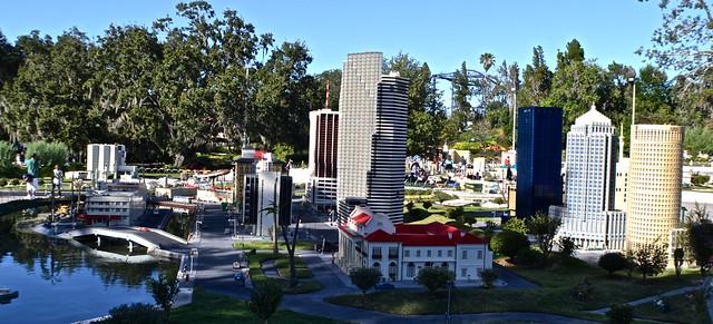 Legoland, Florida - Miniland - orlando downtown