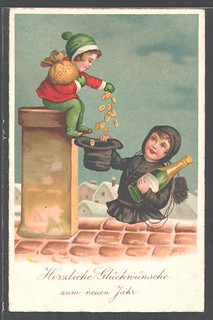 Undated New Year card
