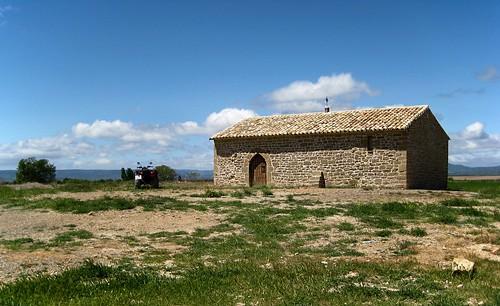 Ermita de San Román (Castiliscar)   **Zaragoza**