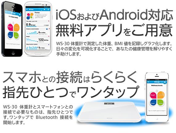 iOSとAndroidに対応
