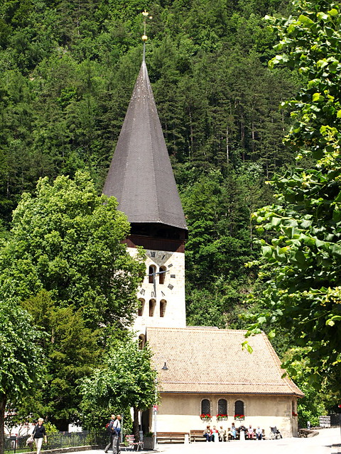 Church, Meiringen, Switzerland