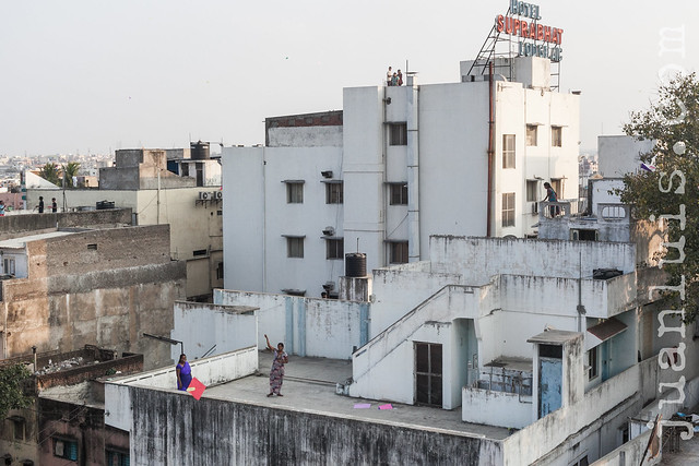 Hyderabad Rooftop Kite Flying